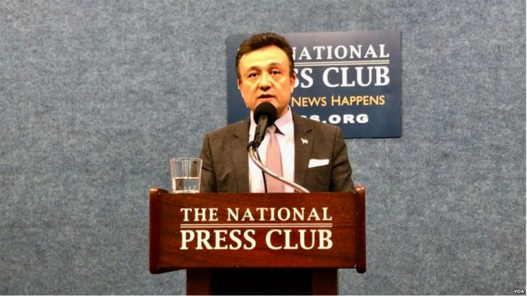 Exiled Uyghur Leader Says 'Red Notice' Demonstrates China's Harassment of Critics Abroad